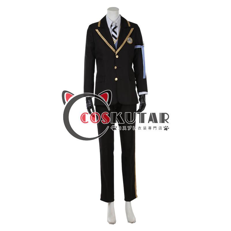 画像1: ツイステッドワンダーランド ツイステ 制服 ジェイド・リーチ コスプレ衣装 (1)