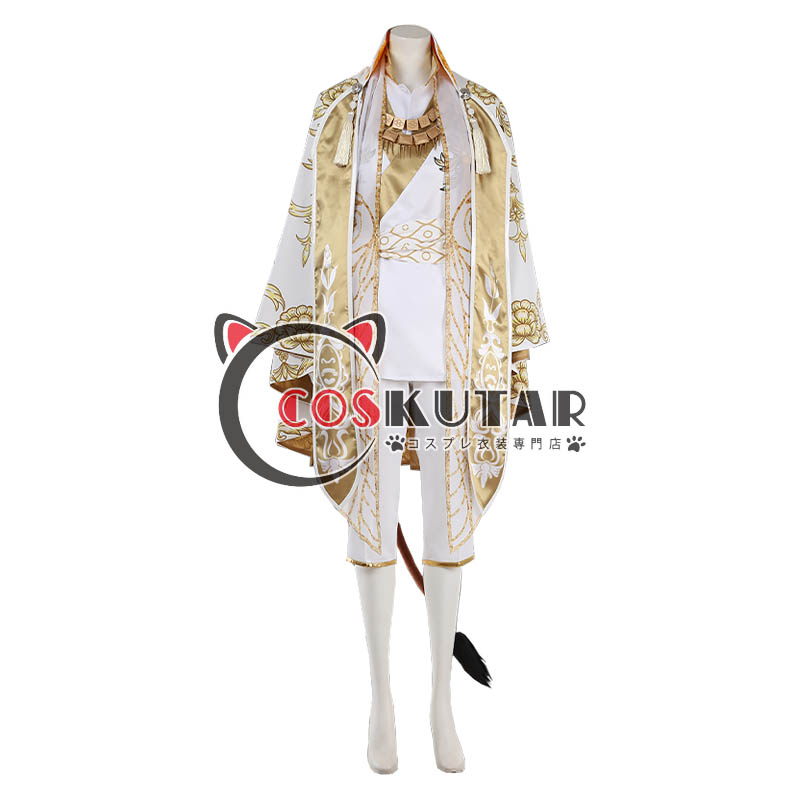 画像1: ツイステッドワンダーランド ツイステ ガラクチュール レオナ・キングスカラー コスプレ衣装 (1)