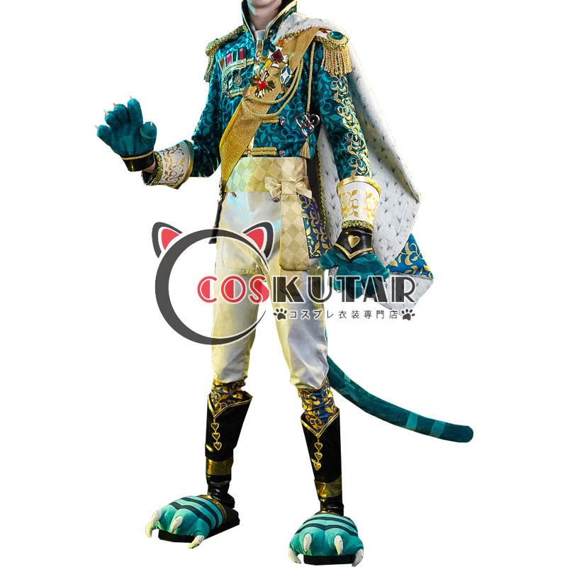 画像1: 第五人格 IdentityV チェシャ猫 傭兵 ナワーブ・サベダー コスプレ衣装 (1)