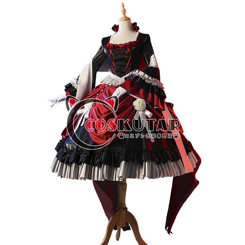 画像1: 第五人格 IdentityV 仲夏茶会 血の女王 マリー コスプレ衣装 (1)