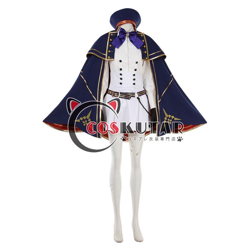 画像1: Fate/Grand Order FGO アルトリアキャスター コスプレ衣装 第二段階 (1)