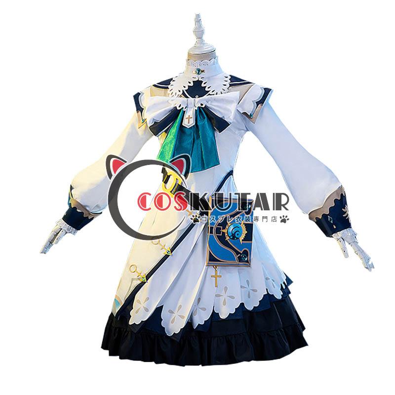 画像1: 原神 Genshin バーバラ コスプレ衣装 (1)