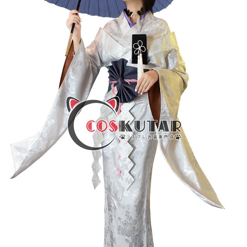 画像1: 第五人格 IdentityV 一番くじ 芸者 美智子 コスプレ衣装 (1)