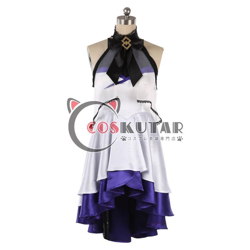 画像1: Fate/Grand Order FGO Waltz in the MOONLIGHT 5周年 マシュ コスプレ衣装 (1)