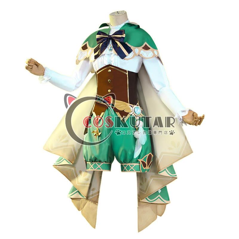 画像1: 原神 Genshin ウェンティ コスプレ衣装 (1)