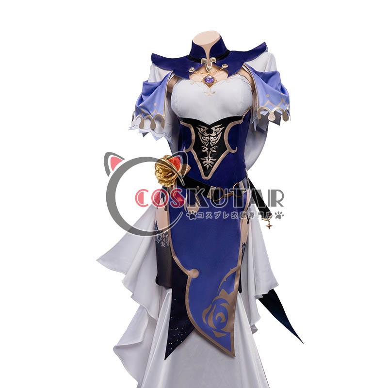 画像1: 原神 Genshin リサ コスプレ衣装 (1)