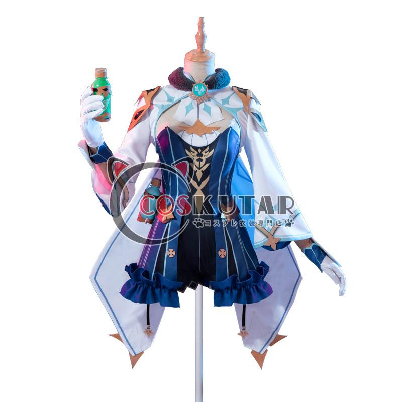 画像1: 原神 Genshin スクロース コスプレ衣装 (1)