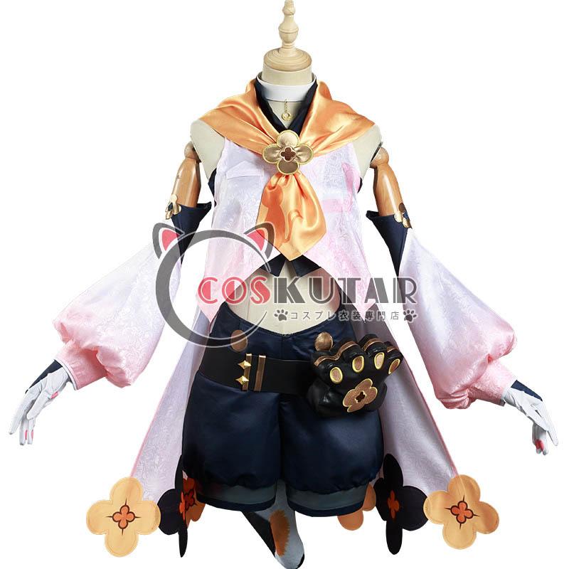 画像1: 原神 Genshin ディオナ コスプレ衣装 (1)