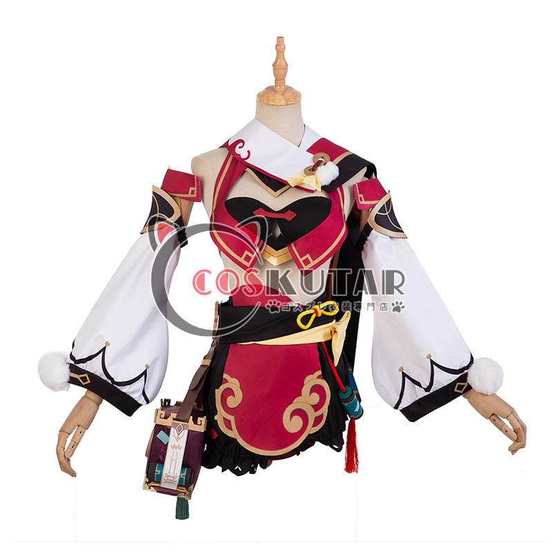 画像1: 原神 Genshin 煙緋 ヤンフェイ コスプレ衣装 (1)