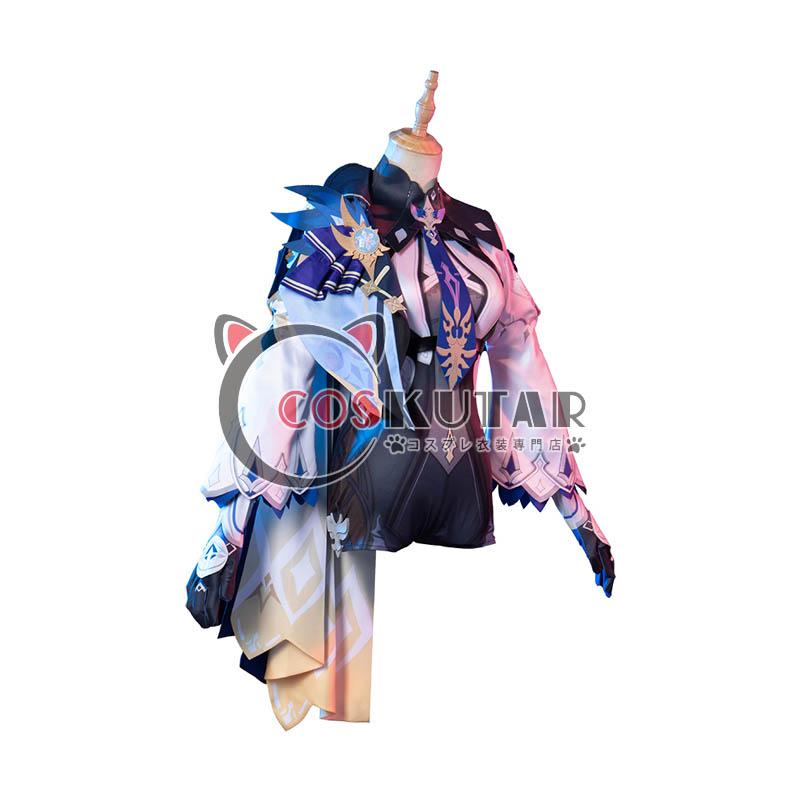 画像1: 原神 Genshin エウルア コスプレ衣装 (1)