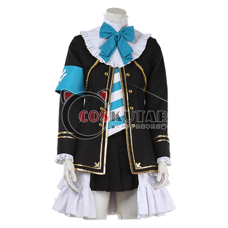 画像1: ウマ娘 プリティーダービー 勝負服 メジロマックイーン コスプレ衣装 (1)
