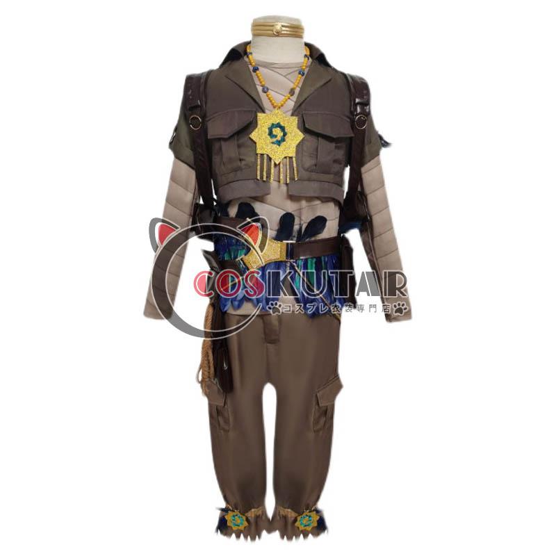 画像1: 第五人格 IdentityV バイパー 囚人 ルカ・バルサー コスプレ衣装 (1)