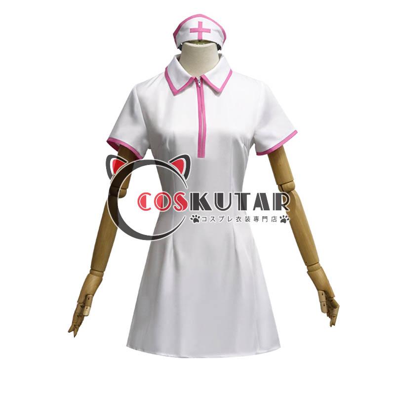 画像1: チェンソーマン ナース服 マキマ パワー コスプレ衣装 (1)