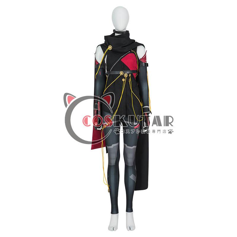 画像1: スカーレットネクサス SCARLET NEXUS カサネ・ランドール コスプレ衣装 (1)