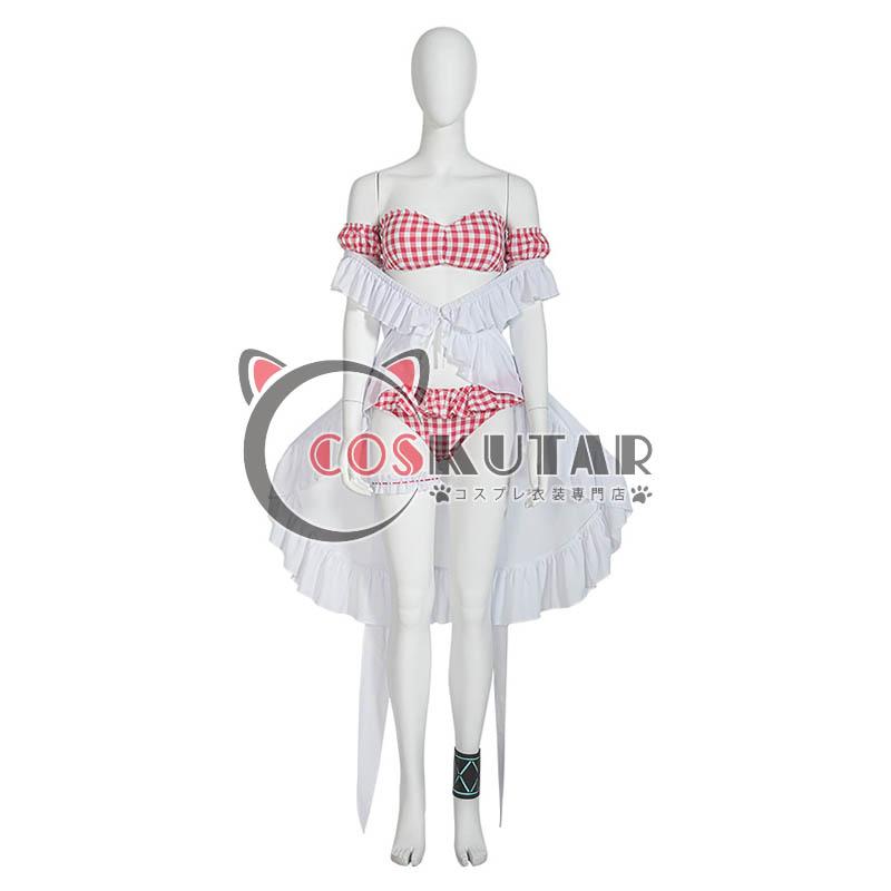 画像1: アークナイツ 水着 エイヤフィヤトラ コスプレ衣装 (1)