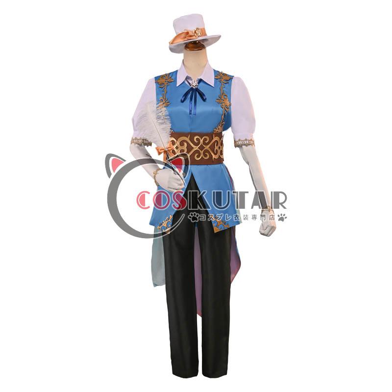 画像1: 第五人格 IdentityV サンシャインシティプリンスホテル コラボ 画家 エドガー・ワルデン コスプレ衣装 (1)
