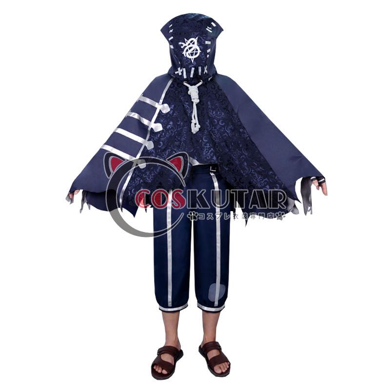 画像1: 第五人格 identityV 毒牙 泣き虫 ロビー・ホワイト コスプレ衣装 (1)