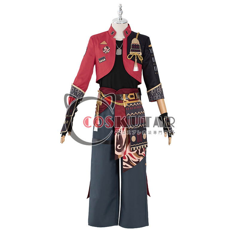 画像1: 原神 Genshin トーマ コスプレ衣装 (1)