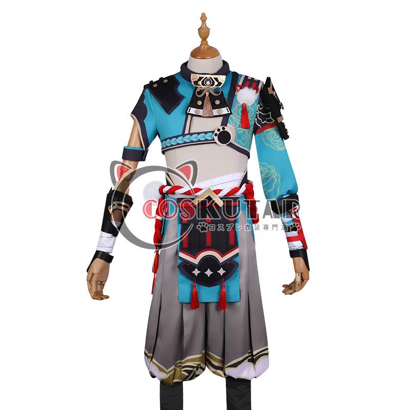 画像1: 原神 Genshin ゴロー コスプレ衣装 (1)