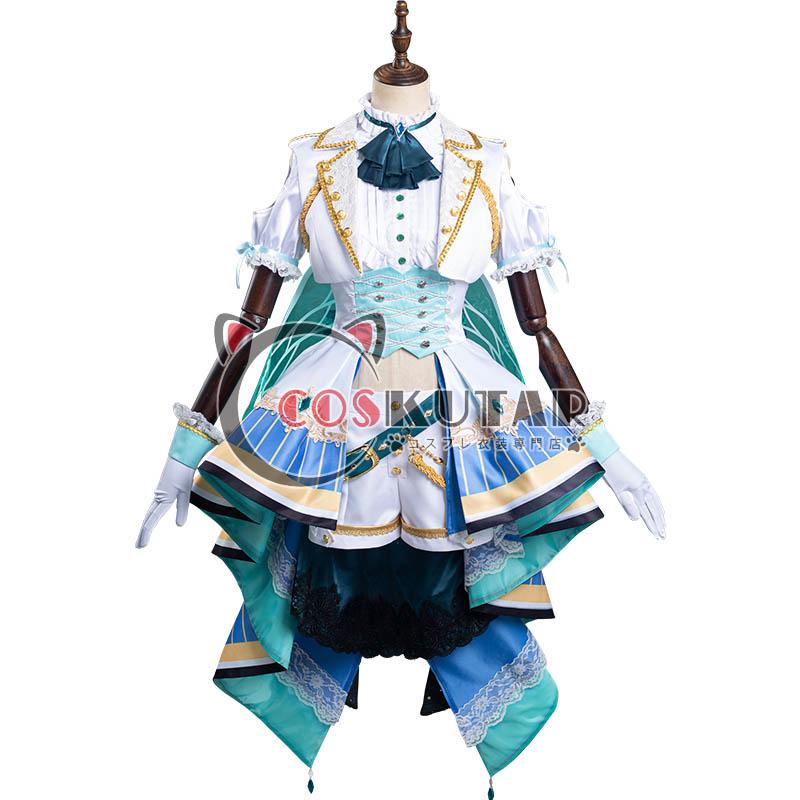 画像1: ウマ娘 プリティーダービー エンド・オブ・スカイ メジロマックイーン コスプレ衣装 (1)