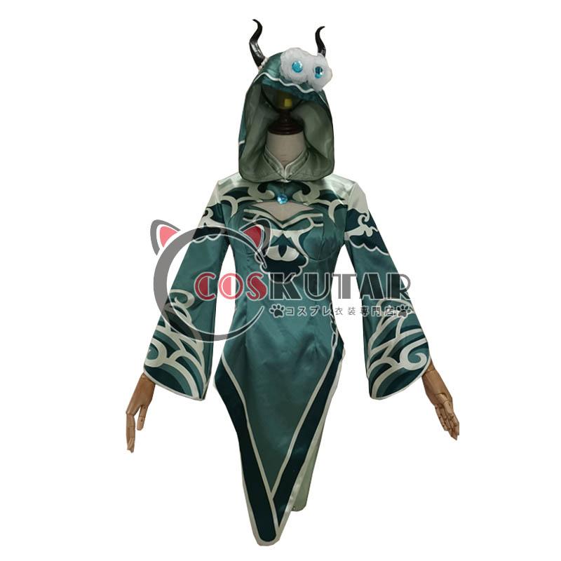 画像1: 第五人格 identityV プーアル 祭司 フィオナ・ギルマン コスプレ衣装 (1)