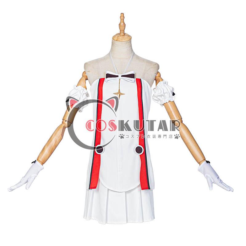 画像1: 原神 Genshin オンラインコンサート クレー コスプレ衣装 (1)