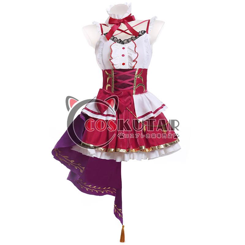 画像1: Fate/Grand Order FGO フラワー・サンシャイン 概念礼装 エレシュキガル コスプレ衣装 (1)