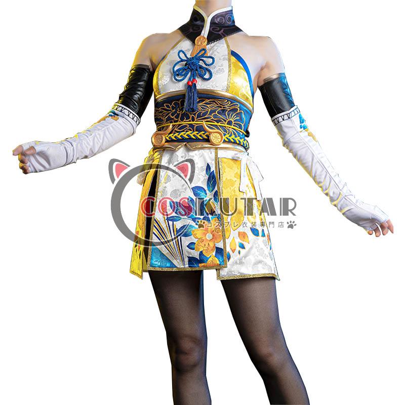 画像1: NARAKA: BLADEPOINT 御宅花織 土御門胡桃 コスプレ衣装 (1)