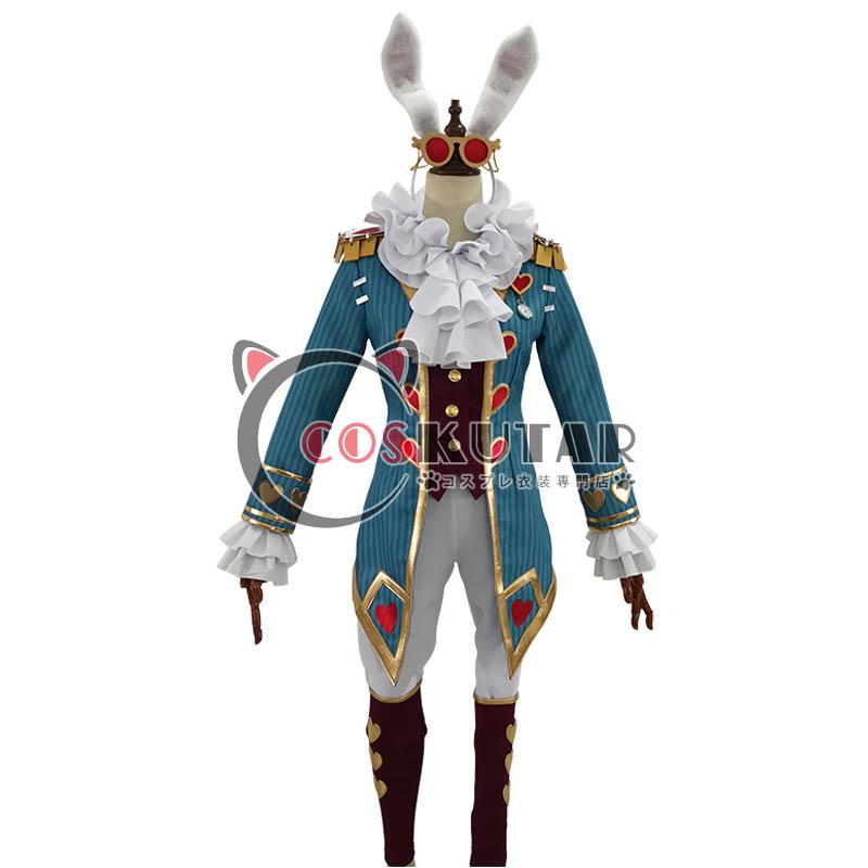 画像1: 第五人格 IdentityV 白ウサギさん 弁護士 フレディ・ライリー コスプレ衣装 (1)
